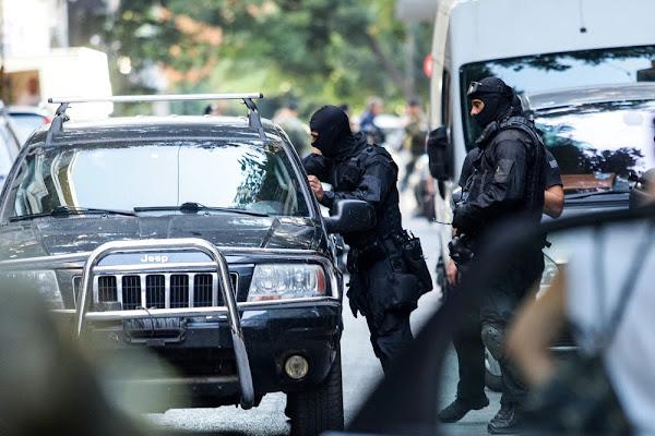 Έκλεψαν κράνος αστυνομικού και κλειδιά μοτοσυκλέτας