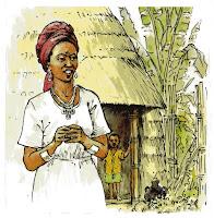 Ethiopian peasant woman