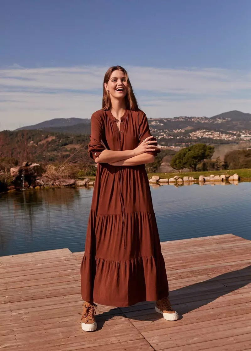 Mango 'Romantic Vibe' Spring 2020 Lookbook