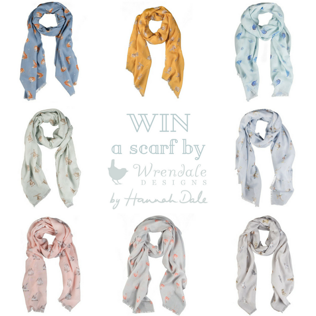 WIN a scarf by Wrendale