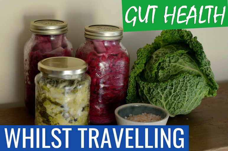 gut health whilst travelling