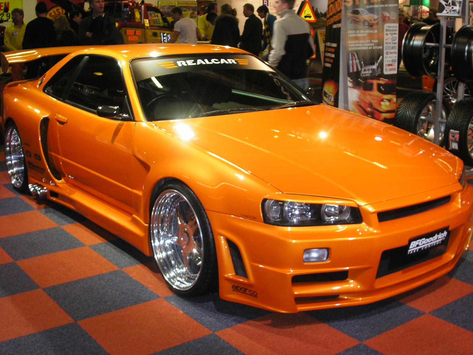 Nissan Skyline GTR R