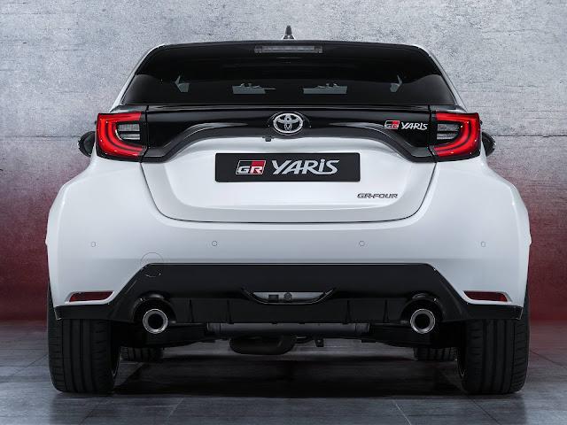Toyota Yaris GR: motor turbo de 257 cv e tração AWD
