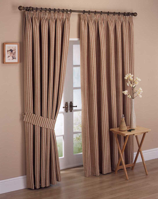 Painted Curtain Rods Curtains Drop Cloth Striped Painters