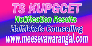 TS KUPGCET 2016 Notification  TS KUPGCET  Exam 2016  TS KUPGCET 2016 Key Dates  TS KUPGCET Application Form 2016 TS KUPGCET 2017 Fee TS KUPGCET 2016 Halltickets   TS KUPGCET 2016 Results TS KUPGCET 2016 Counselling