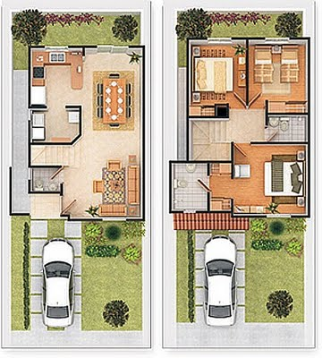 planos de casas 2017