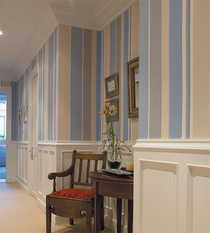 Cosas de palmichula reg late buenas ideas para t pasillo - Casas decoradas con papel pintado ...