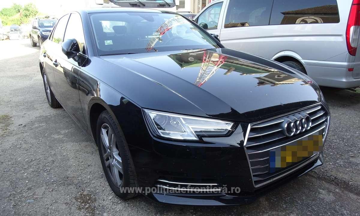 Autoturism căutat de autoritățile din Germania, depistat la P.T.F. Calafat