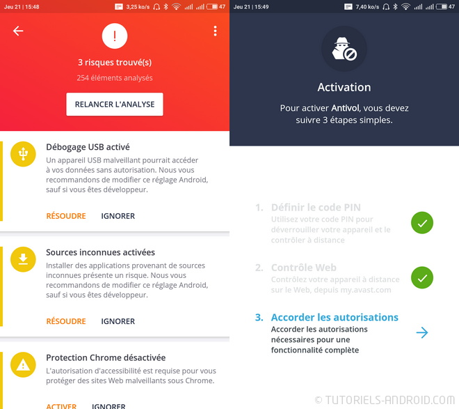Avast Antivirus pour Android