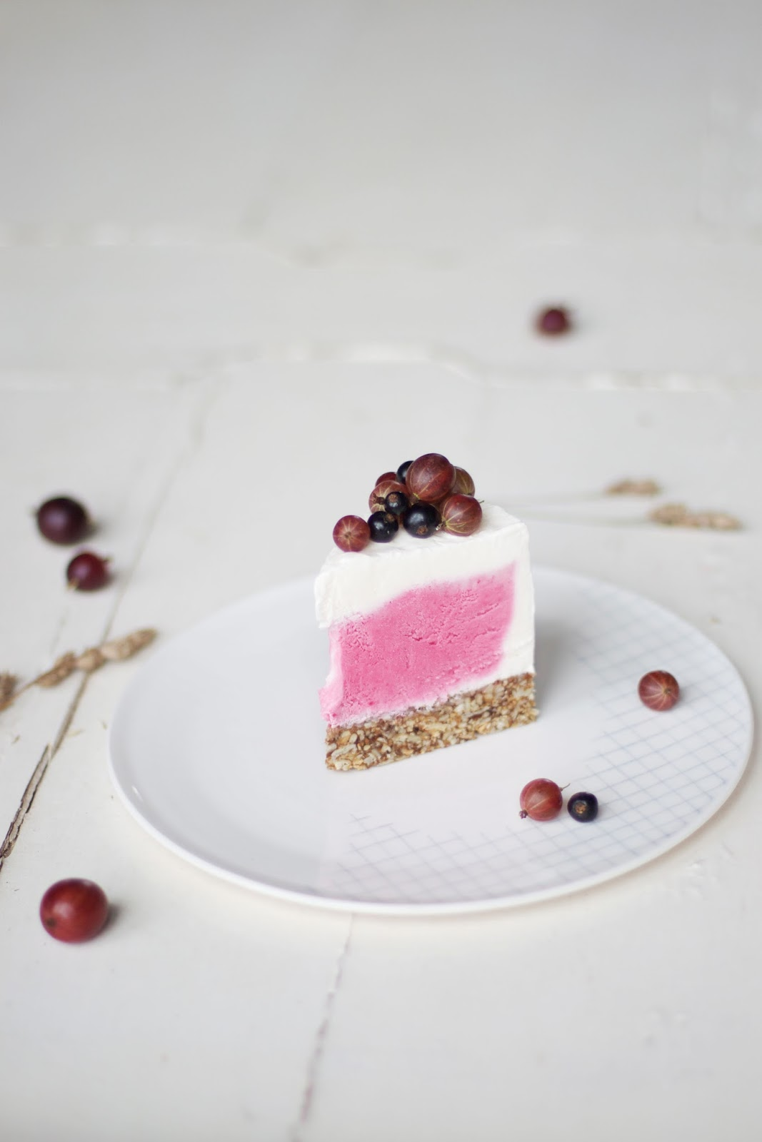 our food stories glutenfree iced gooseberry cake