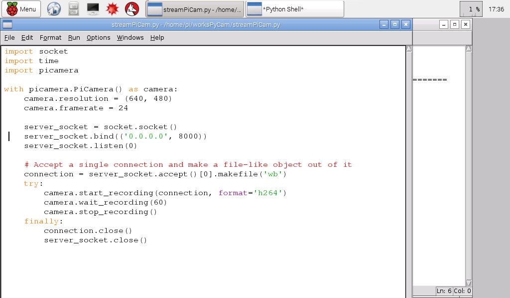 Hello Raspberry Pi: Stream RPi Camera Module Video to network, using