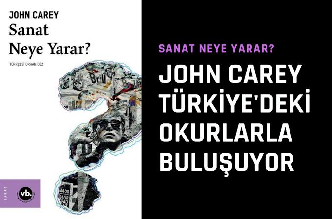 John Carey Türkiye'deki Okurlarla Buluşuyor