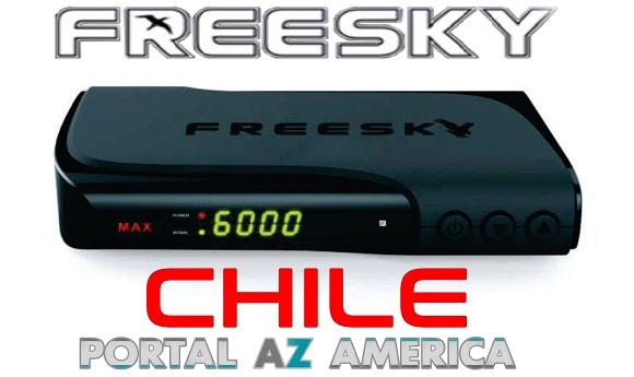 Resultado de imagem para FREESKY MAX HD ( CHILE )PORTAL AZAMERICA