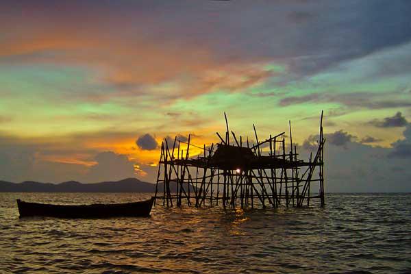 Wisata ke Pulau Kabung