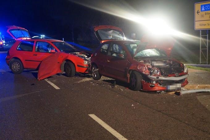 Verkehrsunfall auf der B183 bei Radegast