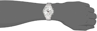 Casio Men's Edifice Quartz Watch with Stainless-Steel Strap, Silver,20 - 1