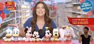 Nova Promoção Extra 30 Anos Selinhos Desconto Pelúcias Disney