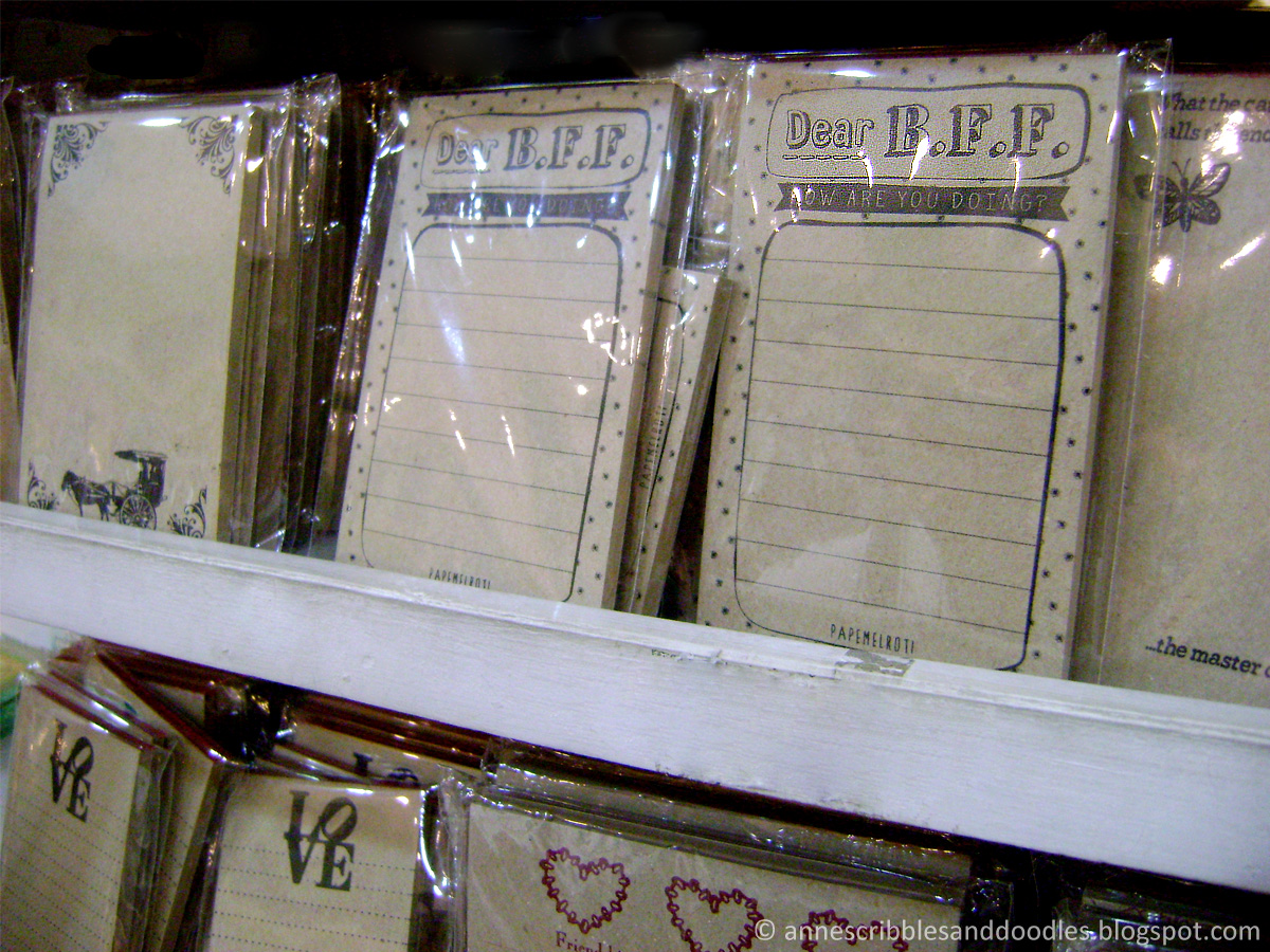 Papemelroti Gift Shop: Notepads | Anne's Scribbles and Doodles