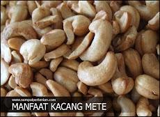 Manfaat Kacang Mete (Anacardium occidentale) untuk kesehatan