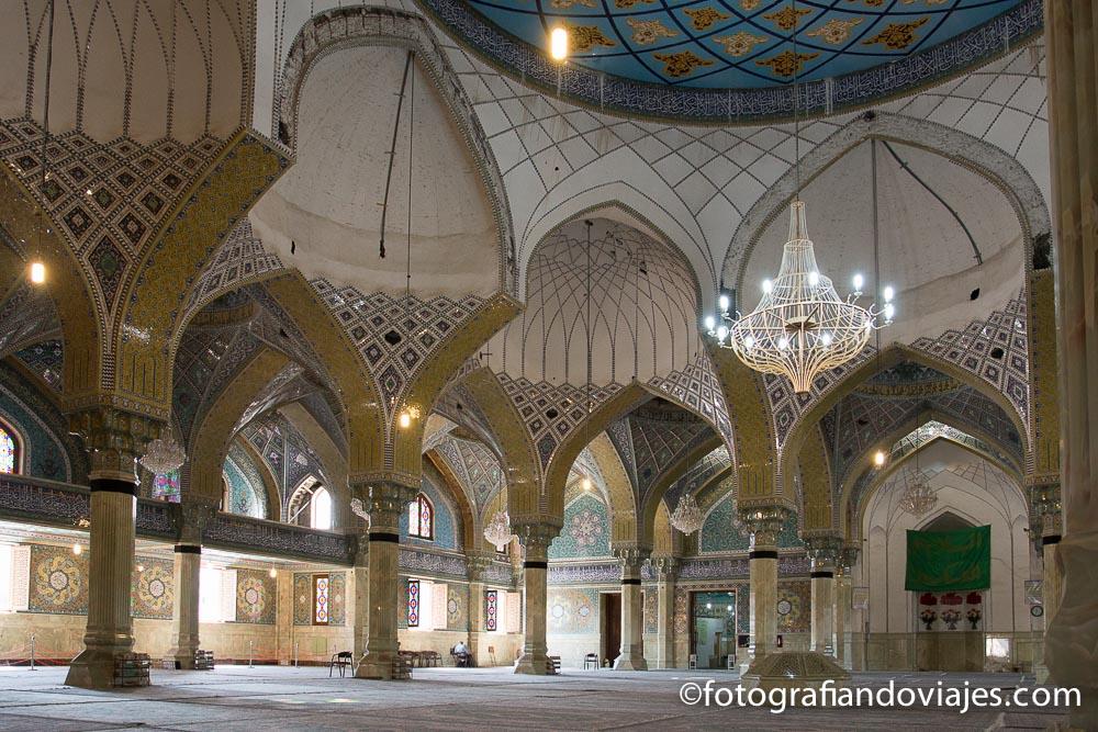 mezquita Iman Hassan en Qom