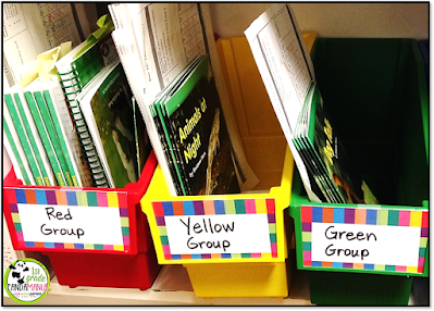 Organize your Guided Reading Materials