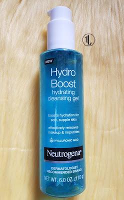 Neutrogena Hydro Boost Hydrating Cleansing Gel - www.modenmakeup.com