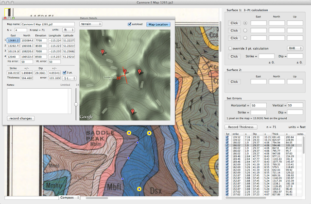 Geol Map Data Extractor (GMGD)