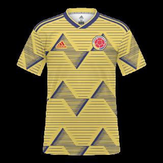 852fde745 Camisas Colômbia 2019 / 2020 - Home e Away