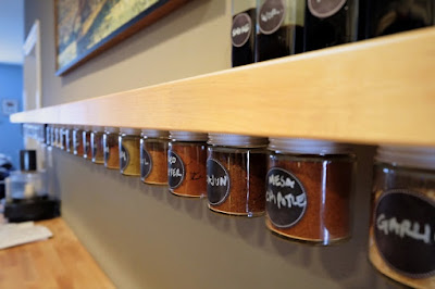 under counter spice storage rack