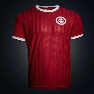 Camisa Retrô Internacional Edição Limitada Masculina - Vermelho