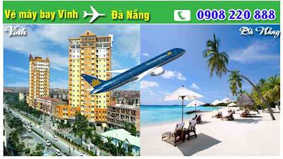 Vé máy bay Vinh đi Đà Nẵng giá rẻ