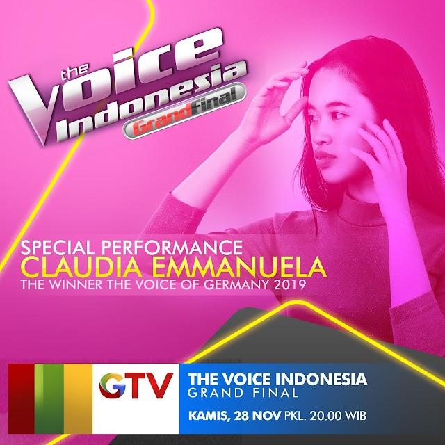 Claudia Emmanuela Akan Tampil Di Grand Final The Voice Indonesia 2019