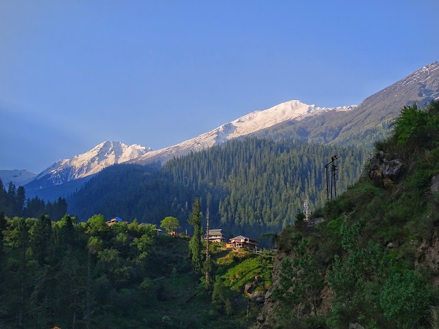 Parvati Valley Landscape