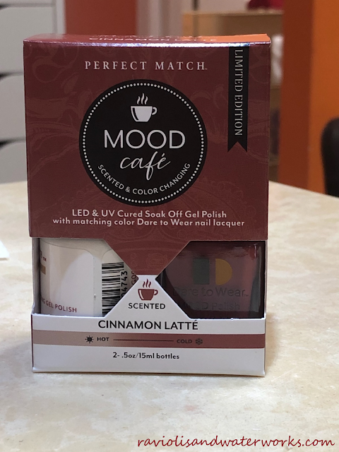 lechat; mood cafe; perfect match color changing polish