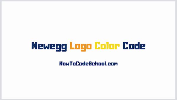 Newegg Logo Color Code