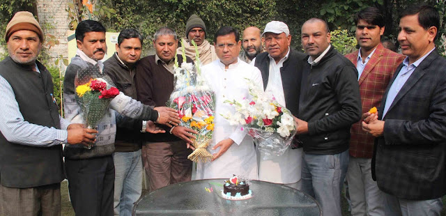 Happy Birthday to senior BJP leader Rajesh Nagar