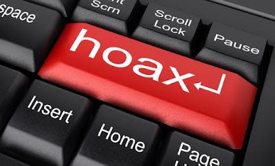 melaporkan berita hoax