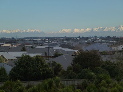 View of Wigram showing the coverage of impermeable rooftops