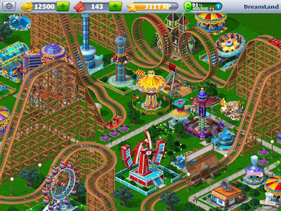 RollerCoaster Tycoon 4 Mobile 1.7.1 MOD APK Full Version