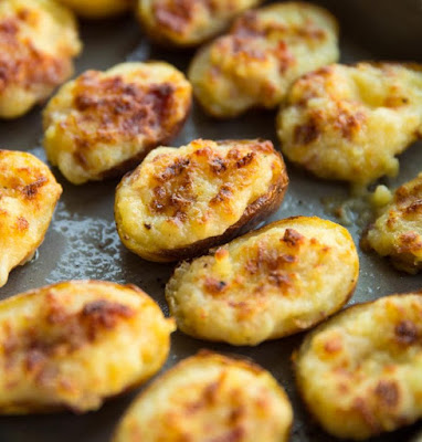 ★★★★★   Mini Twice Baked Loaded Potatoes