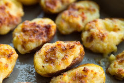 ★★★★★ | Mini Twice Baked Loaded Potatoes