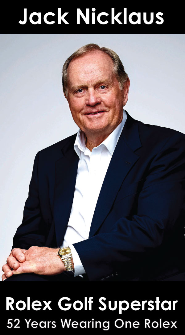 Jack Nicklaus Rolex Golf Superstar