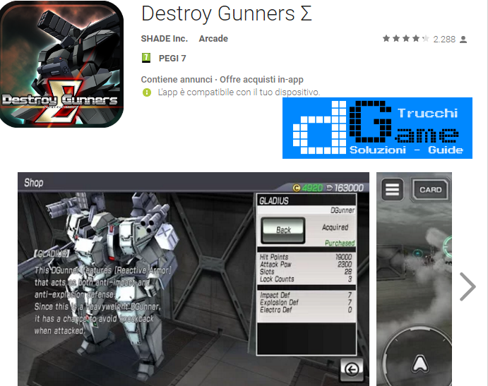 Trucchi Destroy Gunners Mod Apk Android v1.2