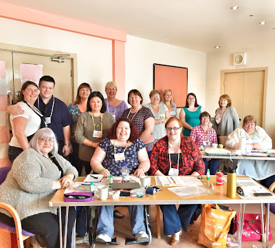 Scottish Stampin' Super Stars at our team day in Glasgow - join the fun here