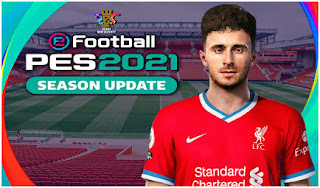 Download PES 2021 PPSSPP CV3 Liverpool Edition Best Graphics Real Faces & Update Full Transfer