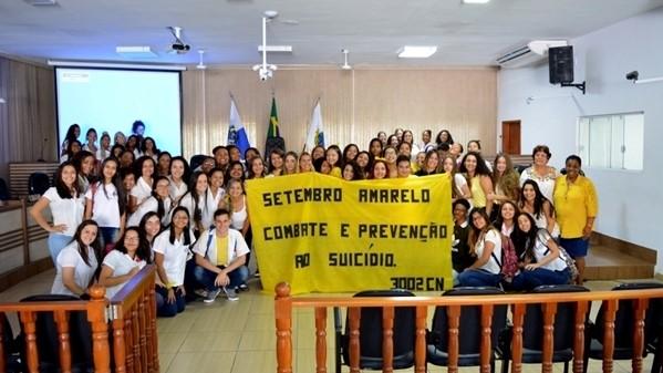 """Ação debate prevenção do suicídio em prol do """"Setembro Amarelo"""" na Câmara Municipal"""