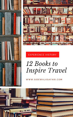 Books that will inspire travel in a historical context