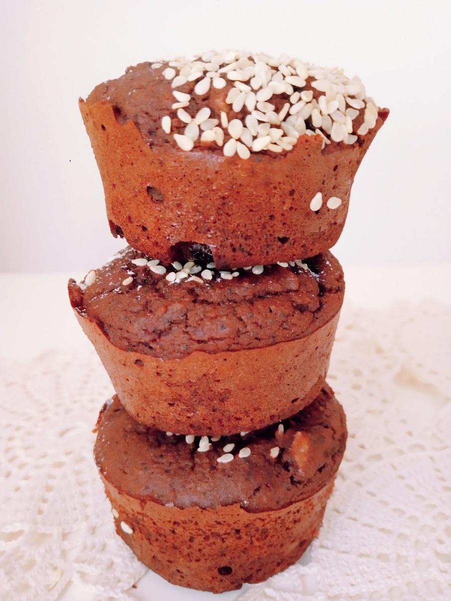 Muffins de sementes