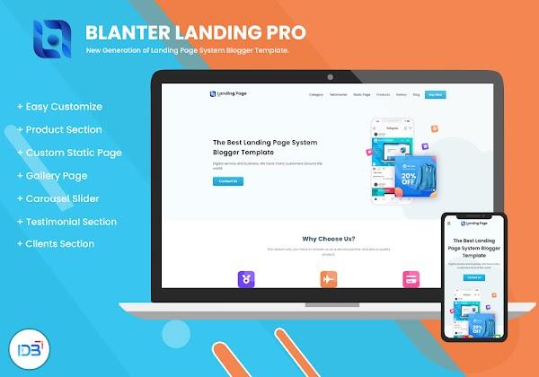 Blanter Landing Pro, Template Landing Page Multifungsi Terbaik