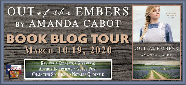Out of the Ember book blog tour promotion banner